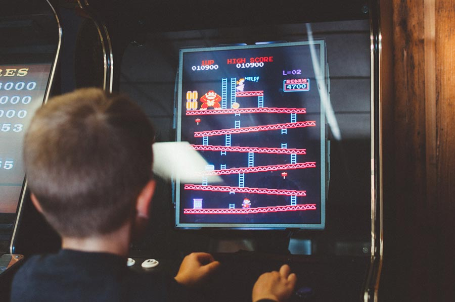 Triunfa la nostalgia por lo retro con las maquinas arcade