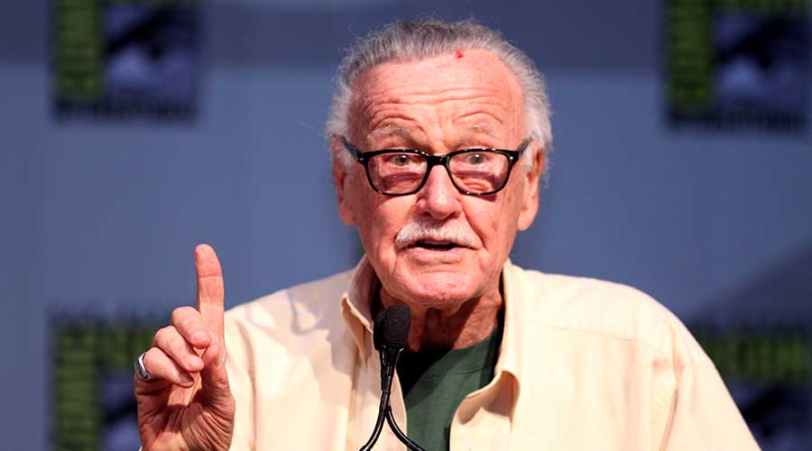 Stan Lee , en la Comic Con.